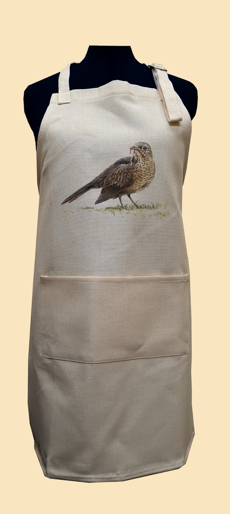 Song Thrush Apron