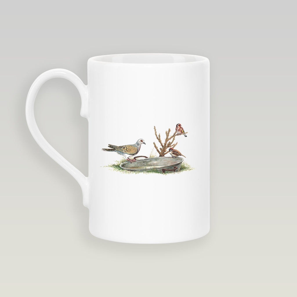 Turtle Dove Slim Mug - Countryman John