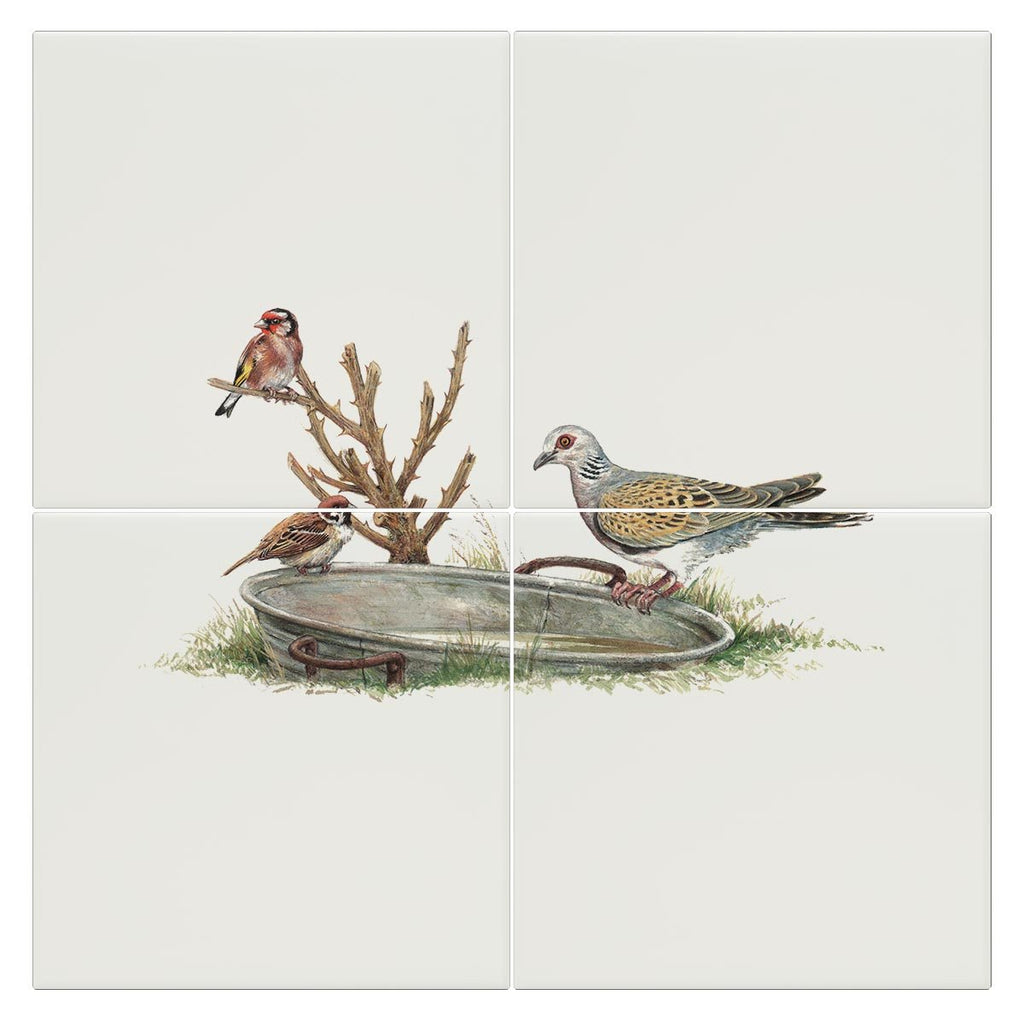 Turtle Dove Tile - Countryman John