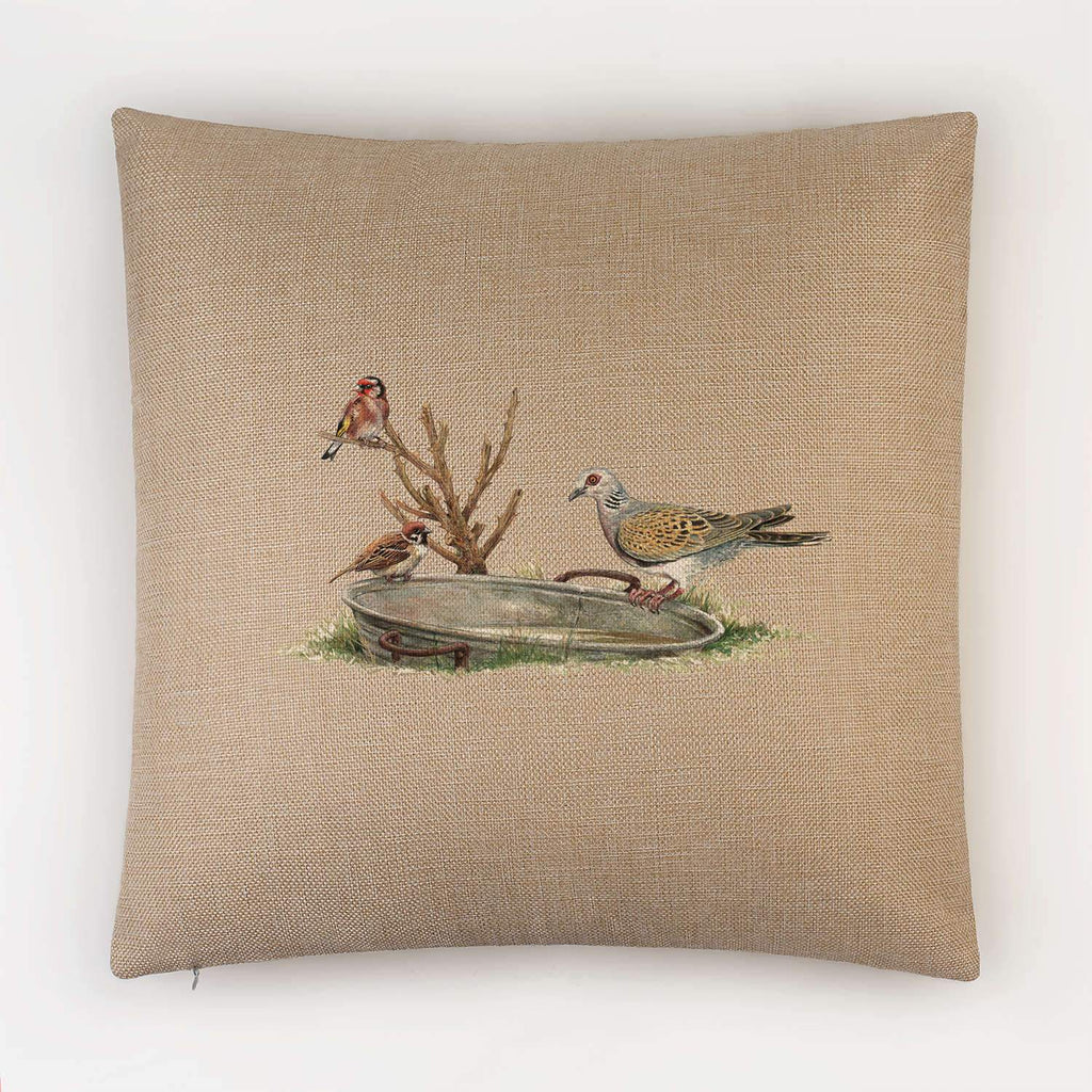 Turtle Dove Cushion - Countryman John