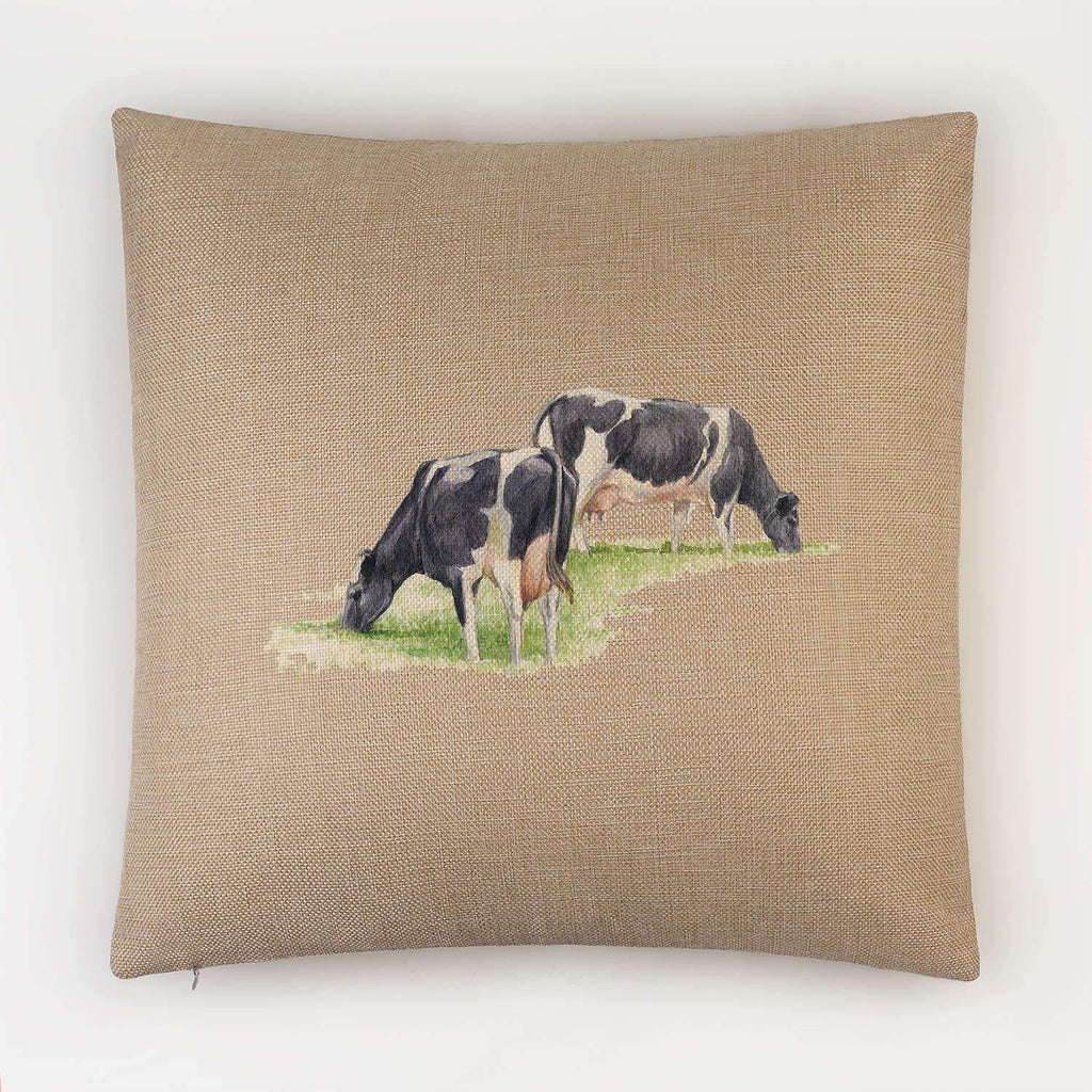 Fresian Cows Feeding Cushion - Countryman John
