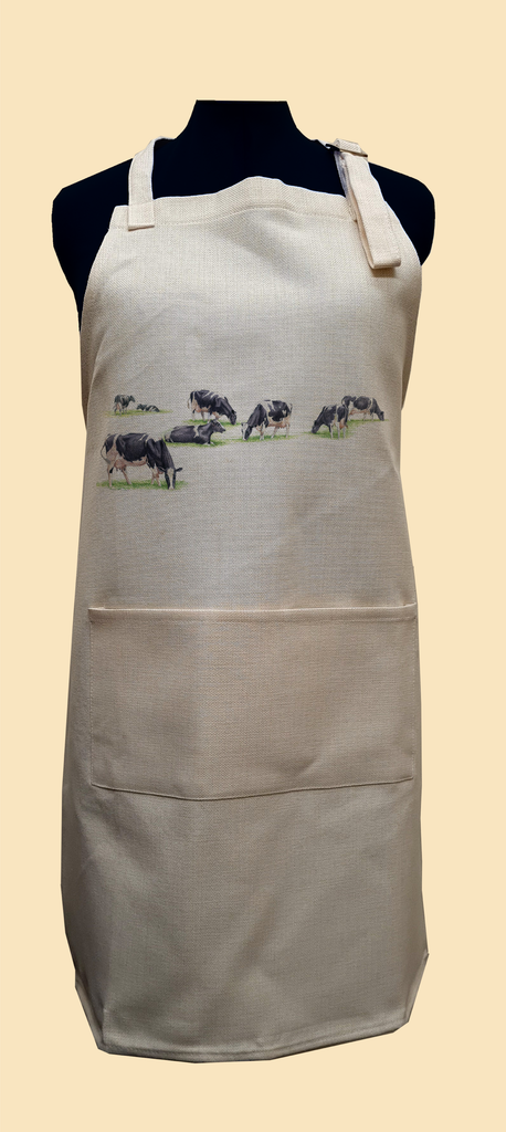 Multiple Grazing Cows Apron