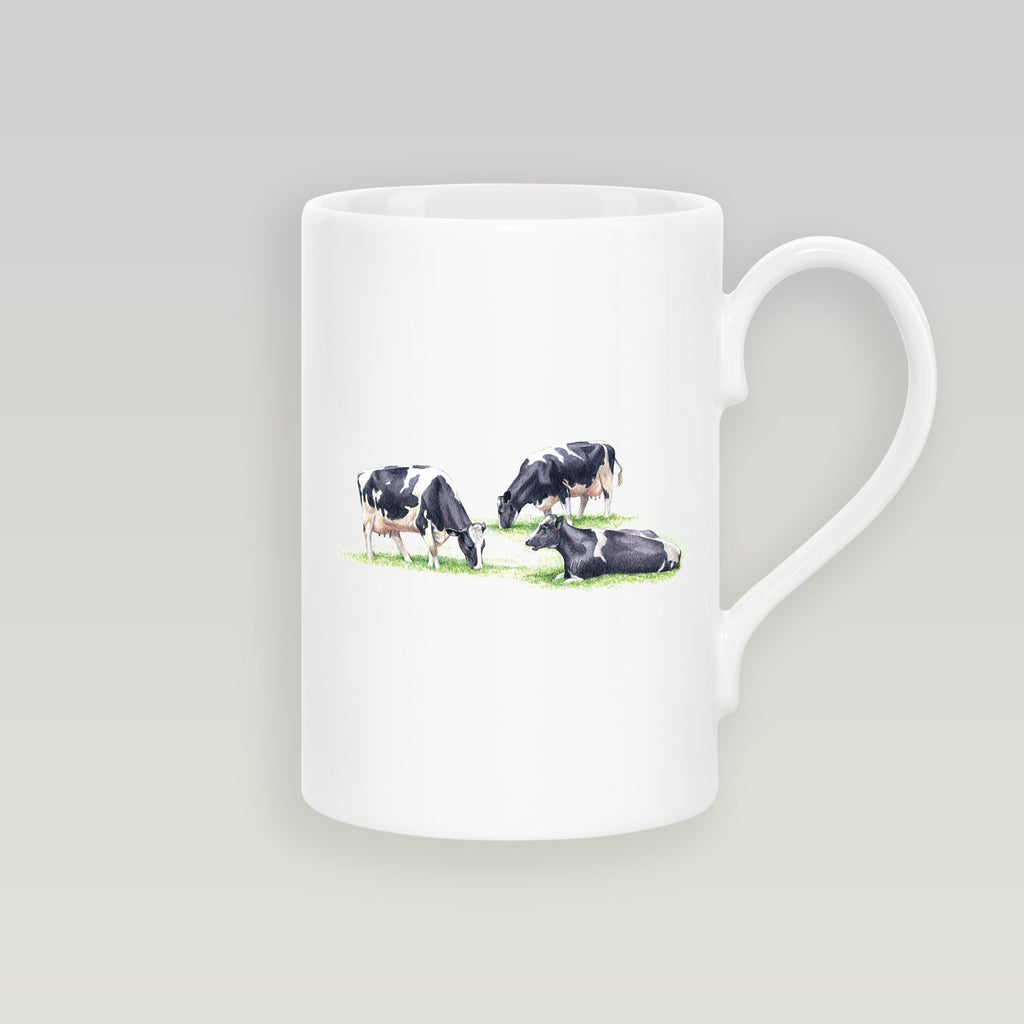 Three Fresian Cows Slim Mug - Countryman John