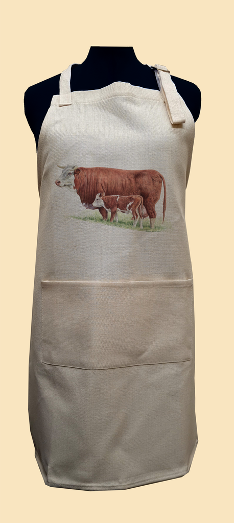 Cow and Calf Apron