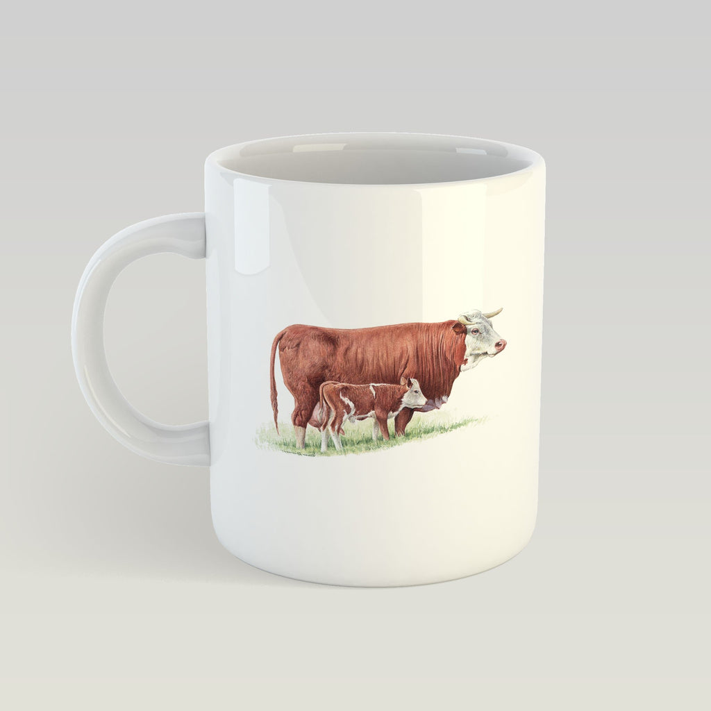 Cow and Calf Mug - Countryman John