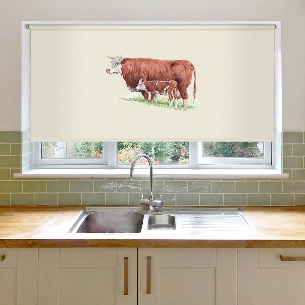 Cow and Calf Roller Blind