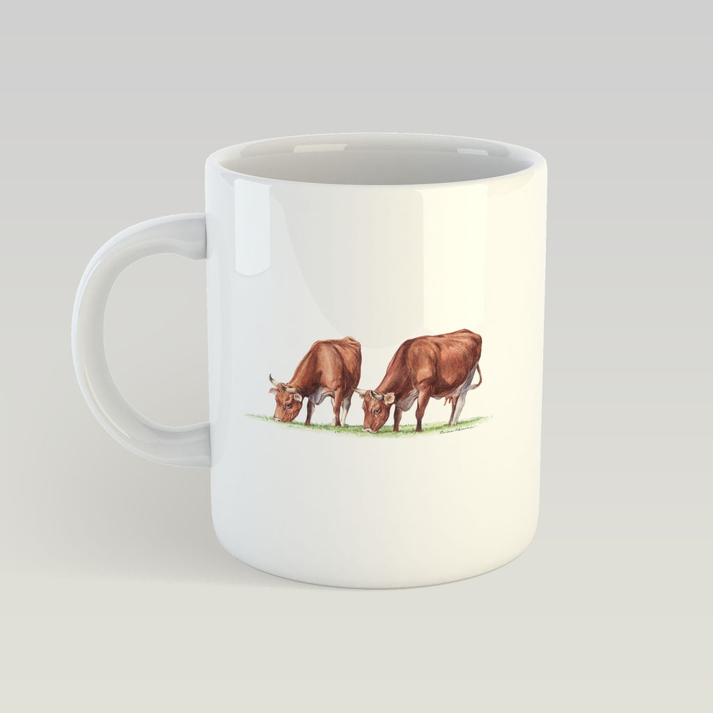 Cows Feeding Mug - Countryman John