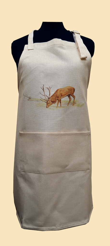 Drinking Red Stag Apron
