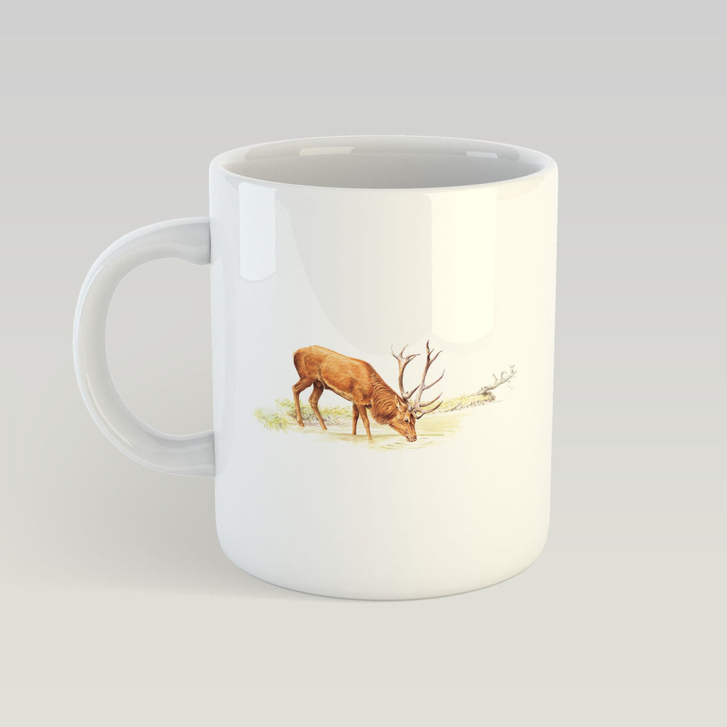 Drinking Red Stag Mug - Countryman John