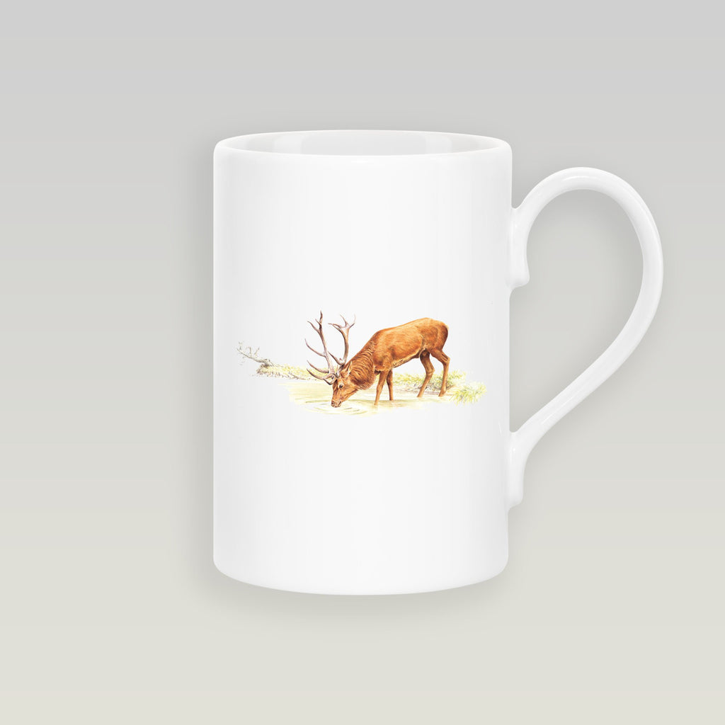 Drinking Red Stag Slim Mug - Countryman John