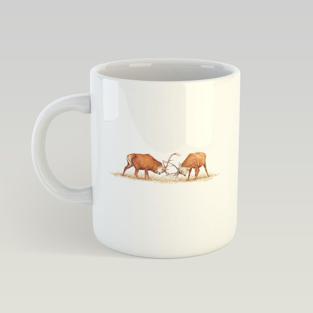 Duelling Stags Mug - Countryman John