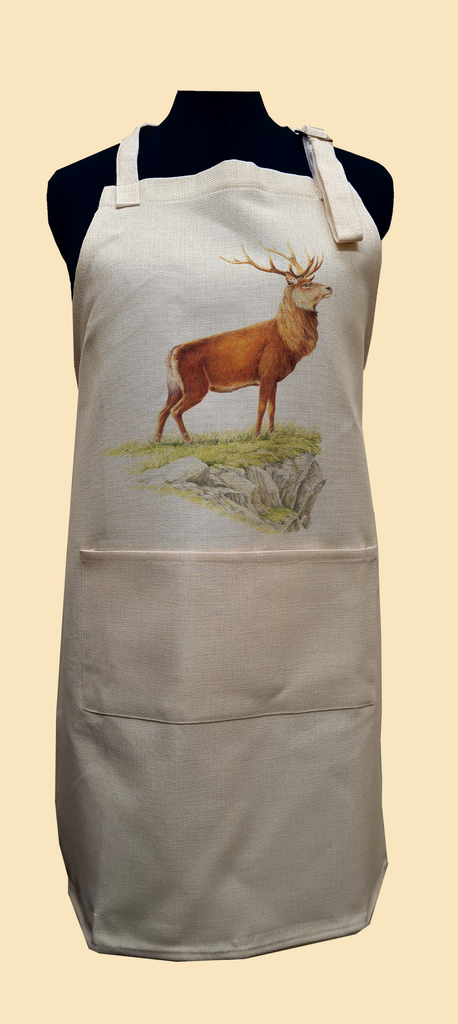 Glorious Stag Apron