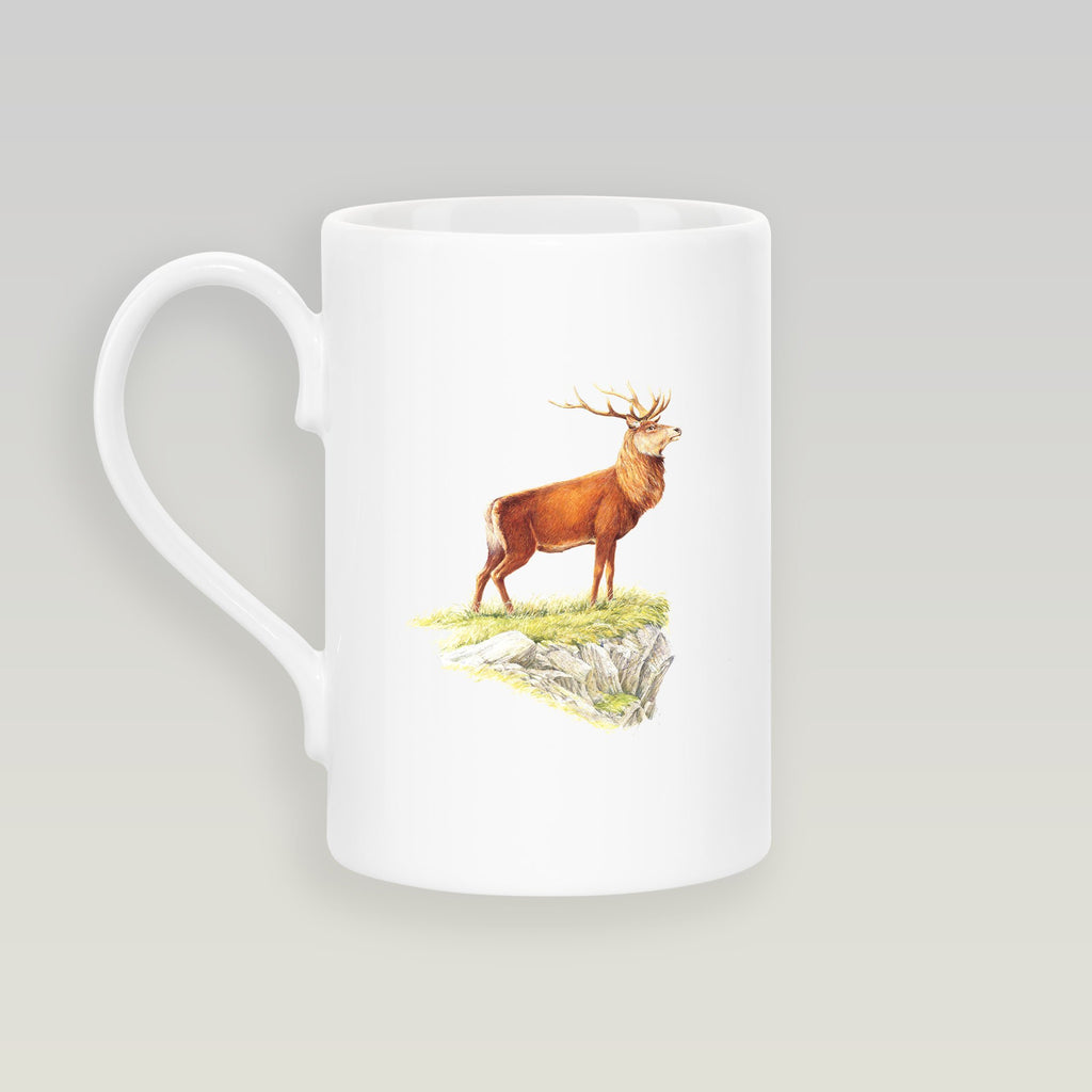 Glorious Stag Slim Mug - Countryman John
