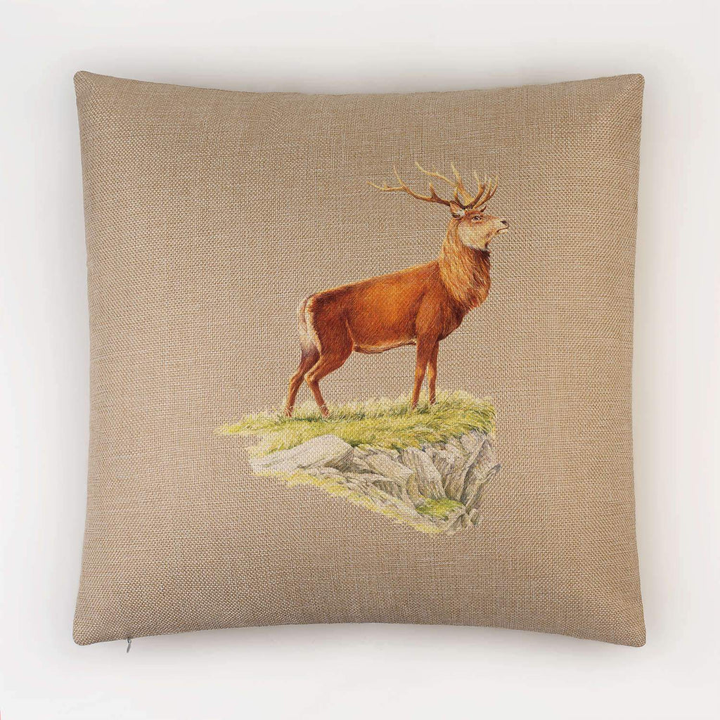 Glorious Stag Cushion - Countryman John