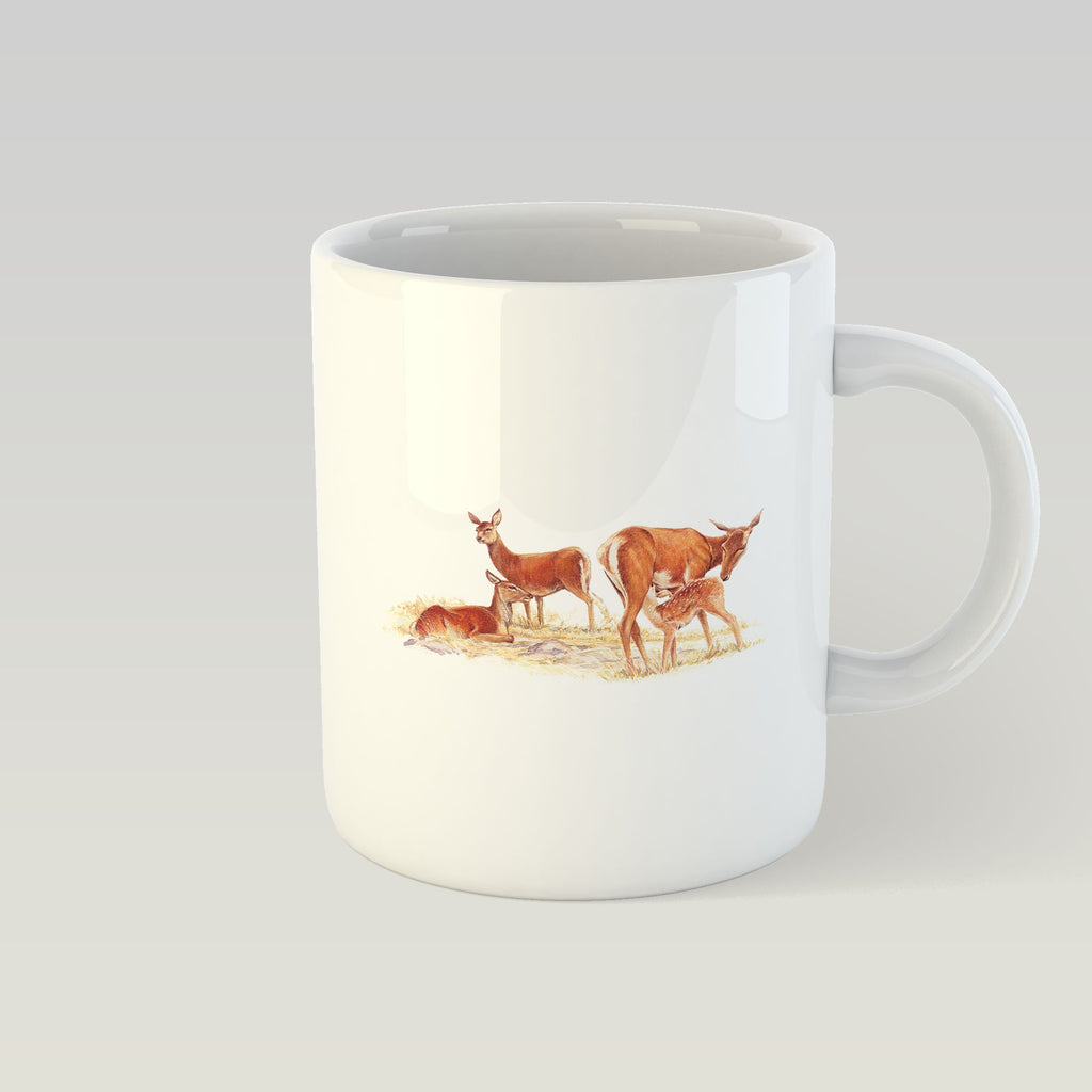 Red Hind with Calf Mug - Countryman John