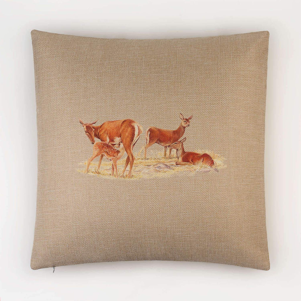 Red Hind with Calf Cushion - Countryman John