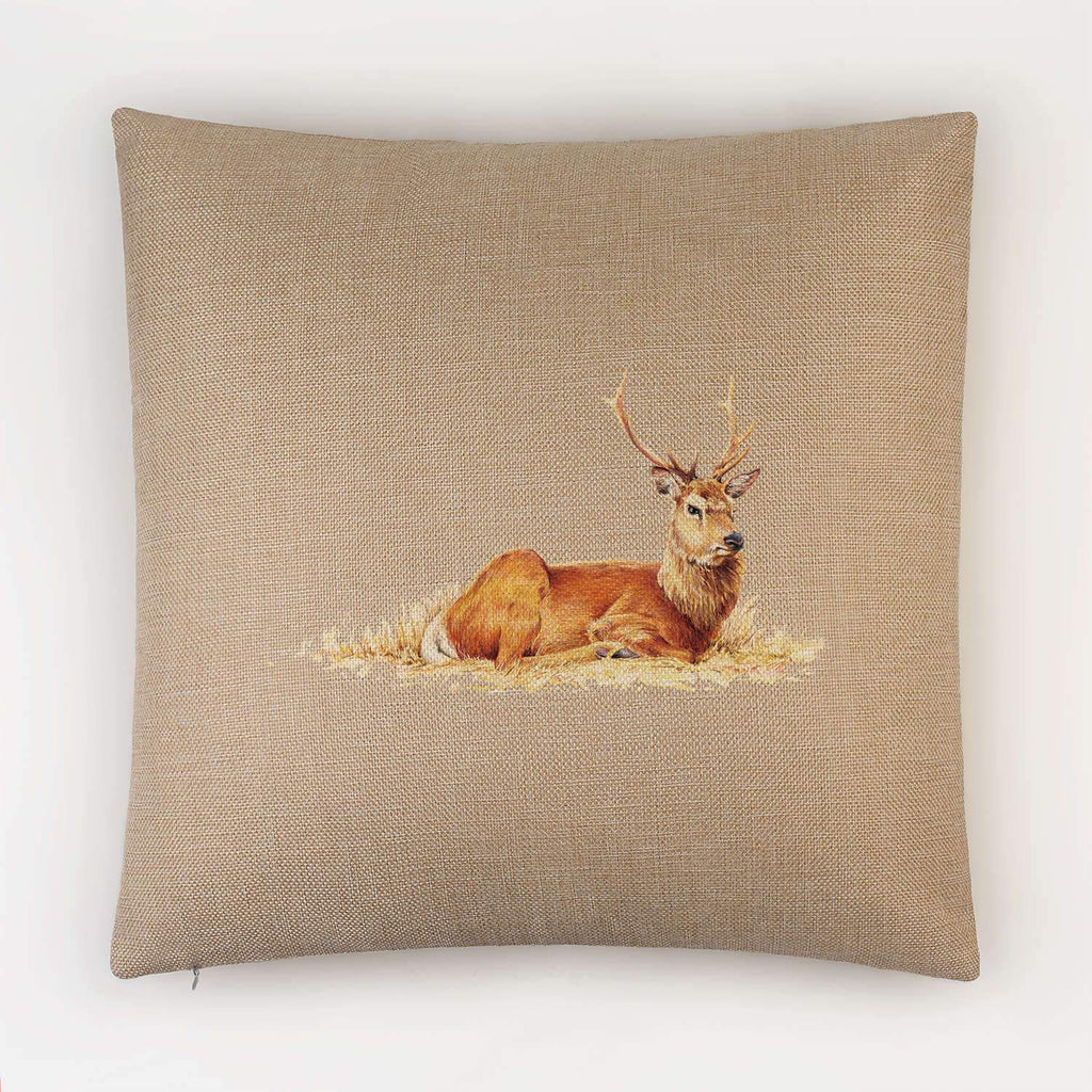 Resting Stag Cushion - Countryman John