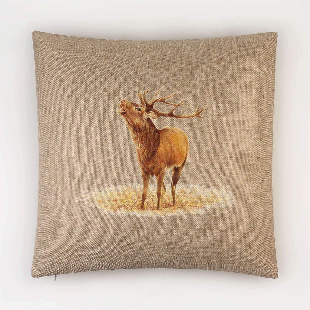 Roaring Stag Cushion - Countryman John