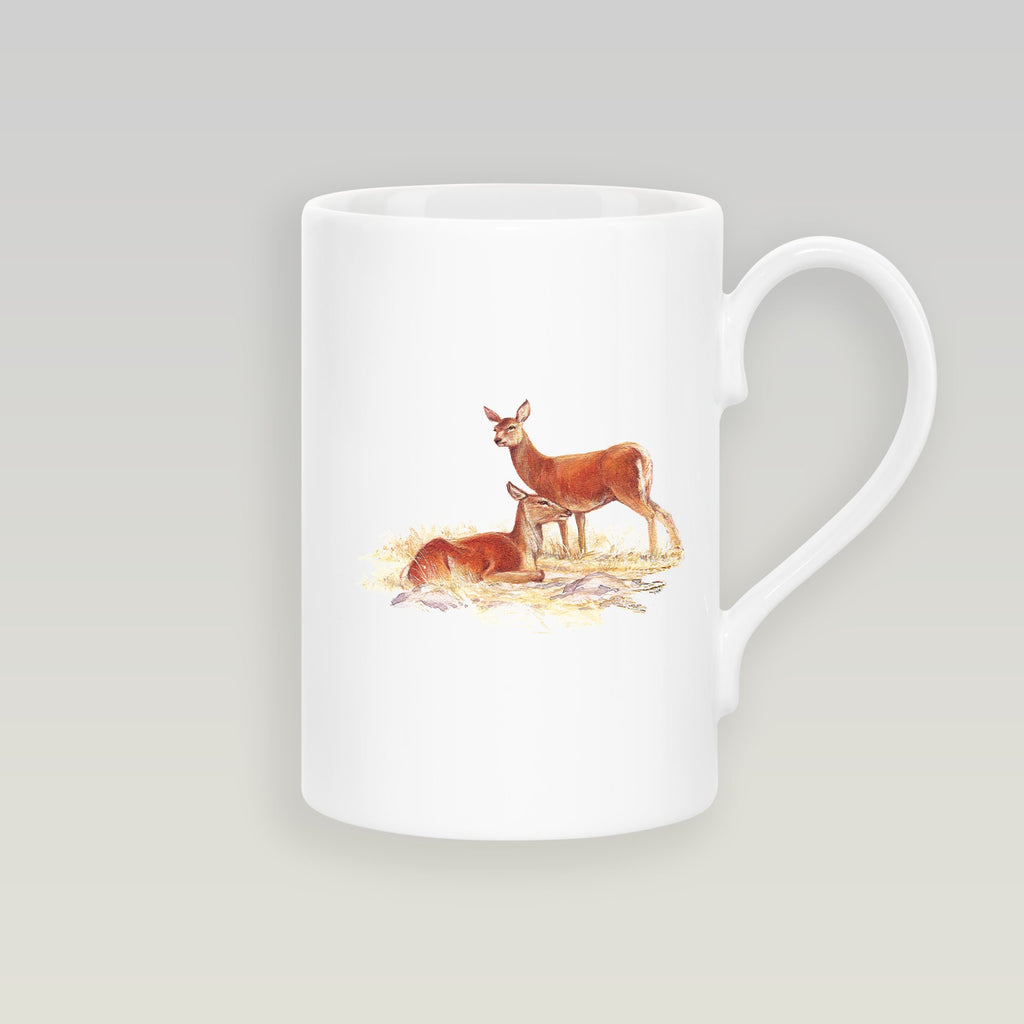 Red Hind Deer Slim Mug - Countryman John