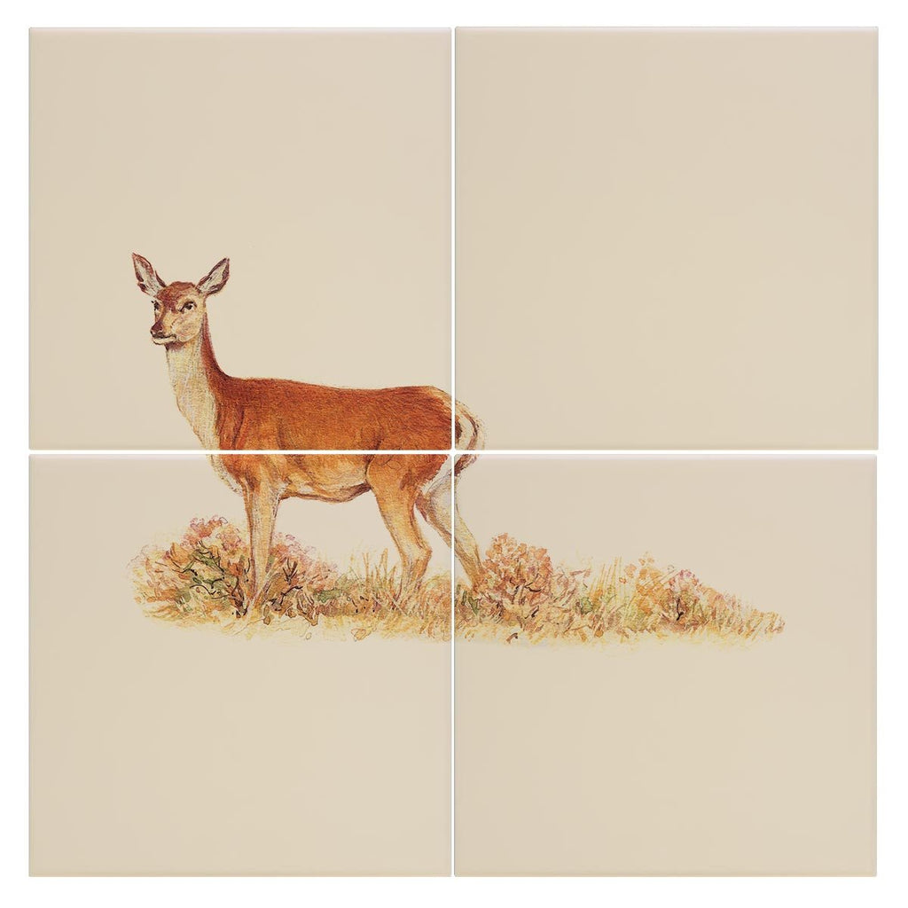 Red Calf Doe Tile - Countryman John