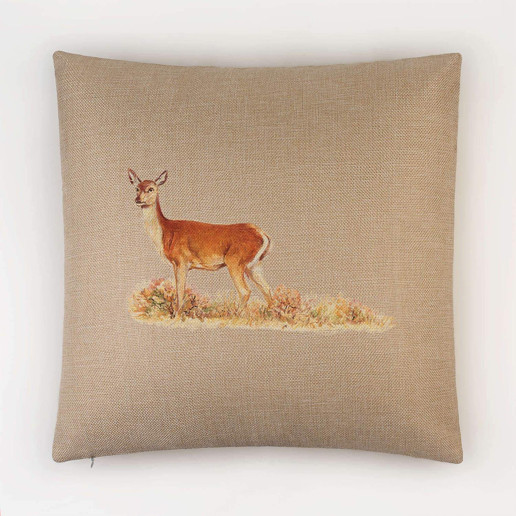 Red Calf Doe Cushion - Countryman John