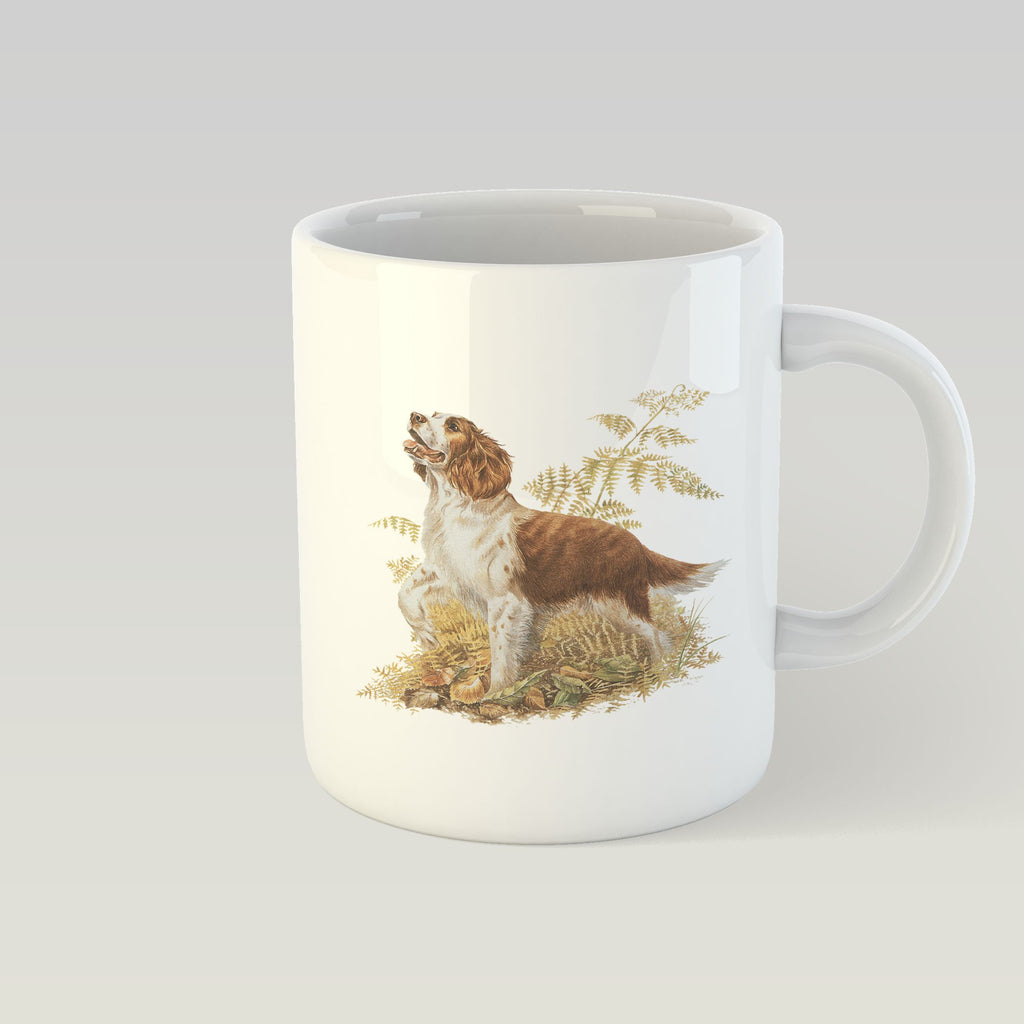 Brown and White Springer Spaniel Mug - Countryman John