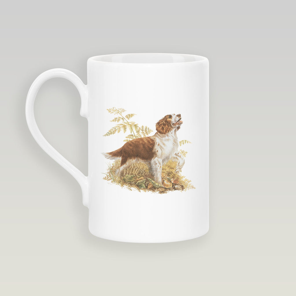 Brown and White Springer Spaniel Slim Mug - Countryman John