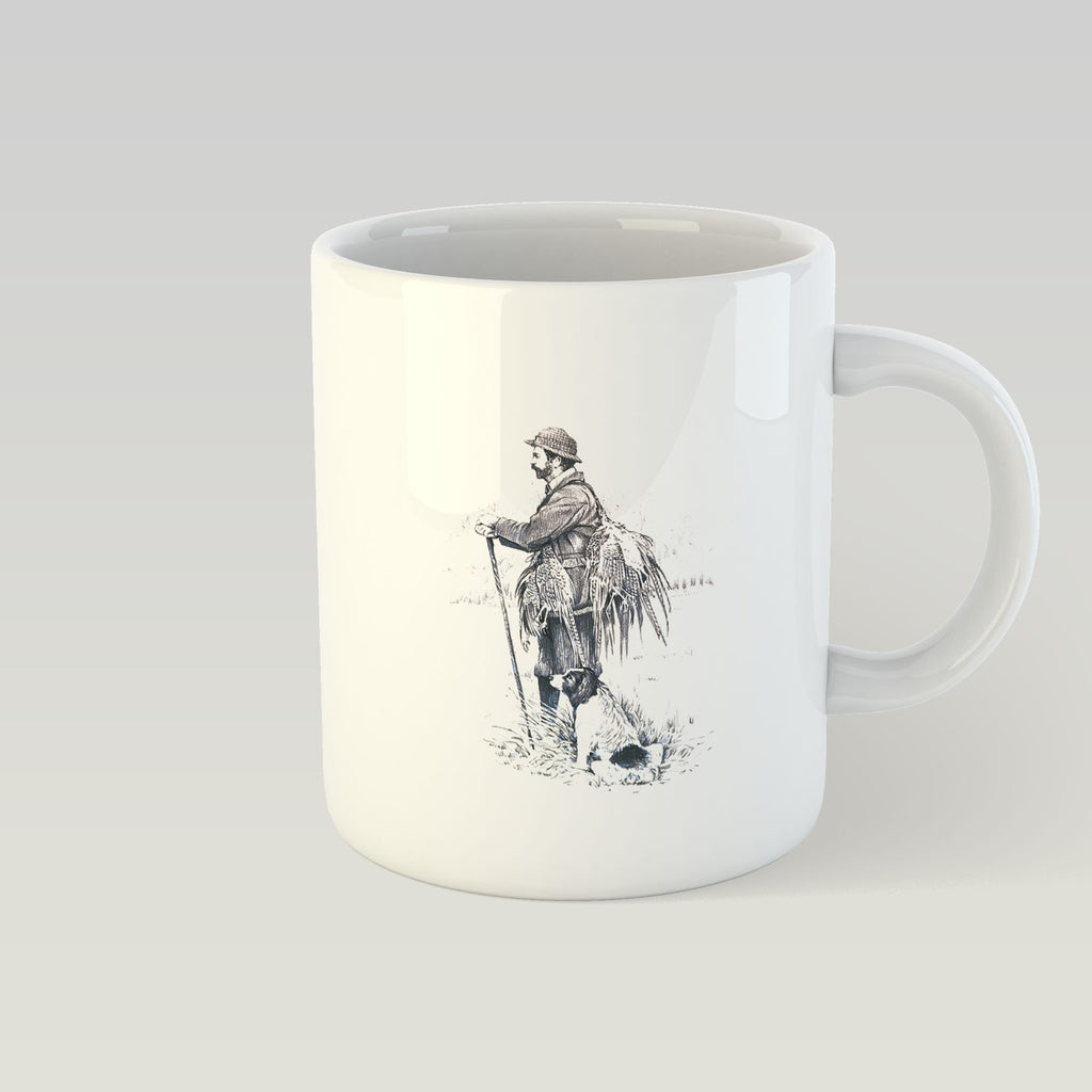 Gamekeeper and Springer Spaniel Mug - Countryman John