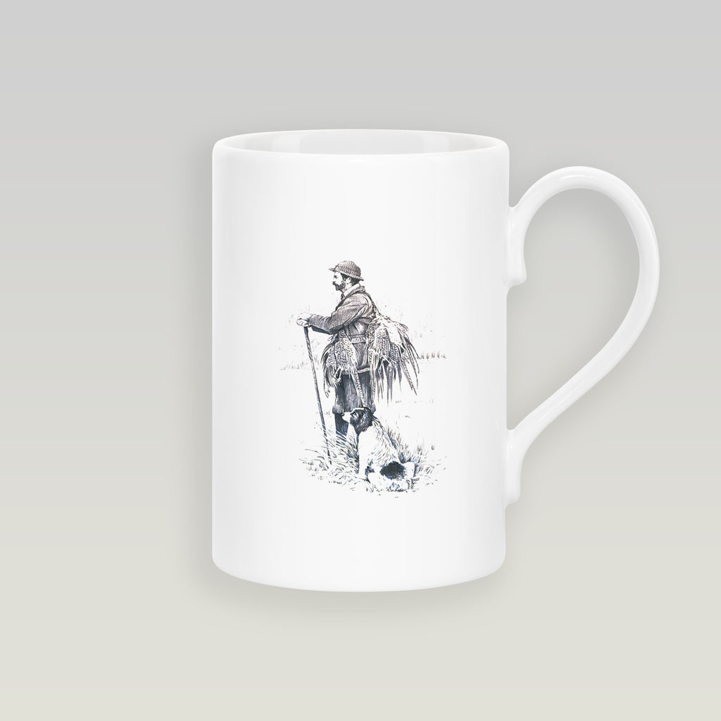 Gamekeeper and Springer Spaniel Slim Mug - Countryman John