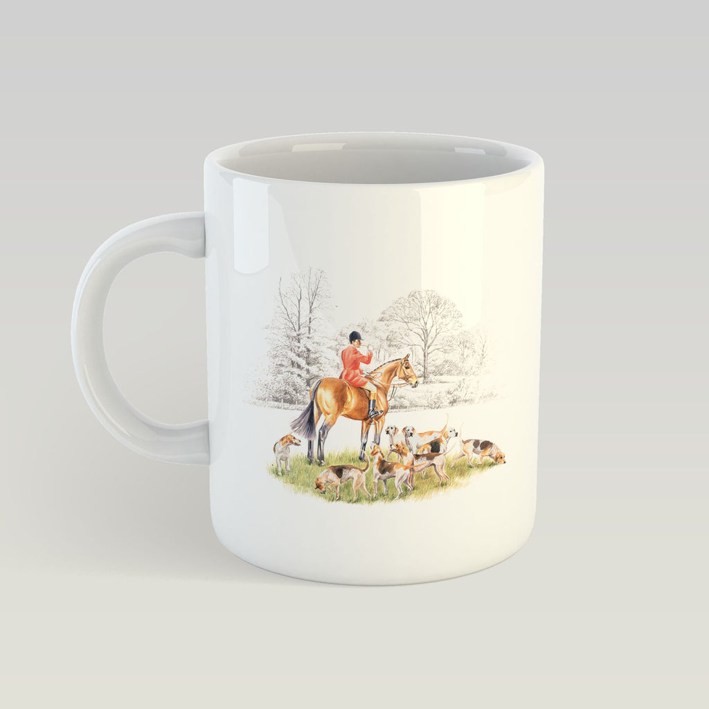 Huntsman and Hounds Mug - Countryman John
