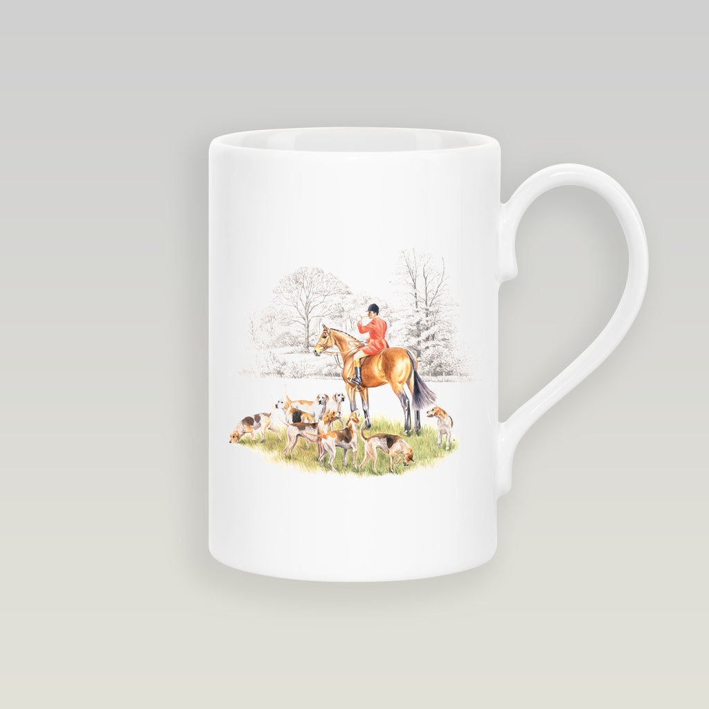 Huntsman and Hounds Slim Mug - Countryman John