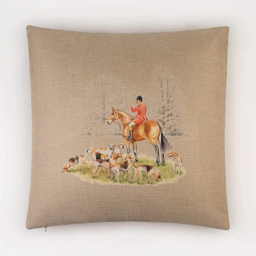 Huntsman and Hounds Cushion - Countryman John