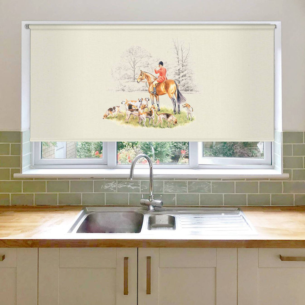 Huntsman and Hounds Roller Blind