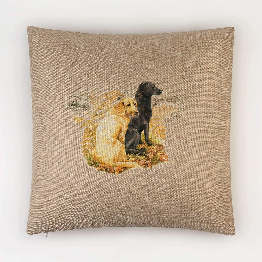 Labradors Cushion - Countryman John