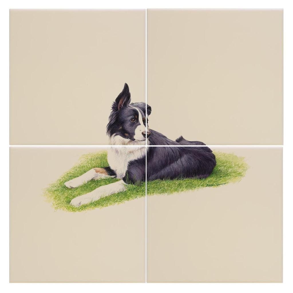 Sheep Dog Tile - Countryman John