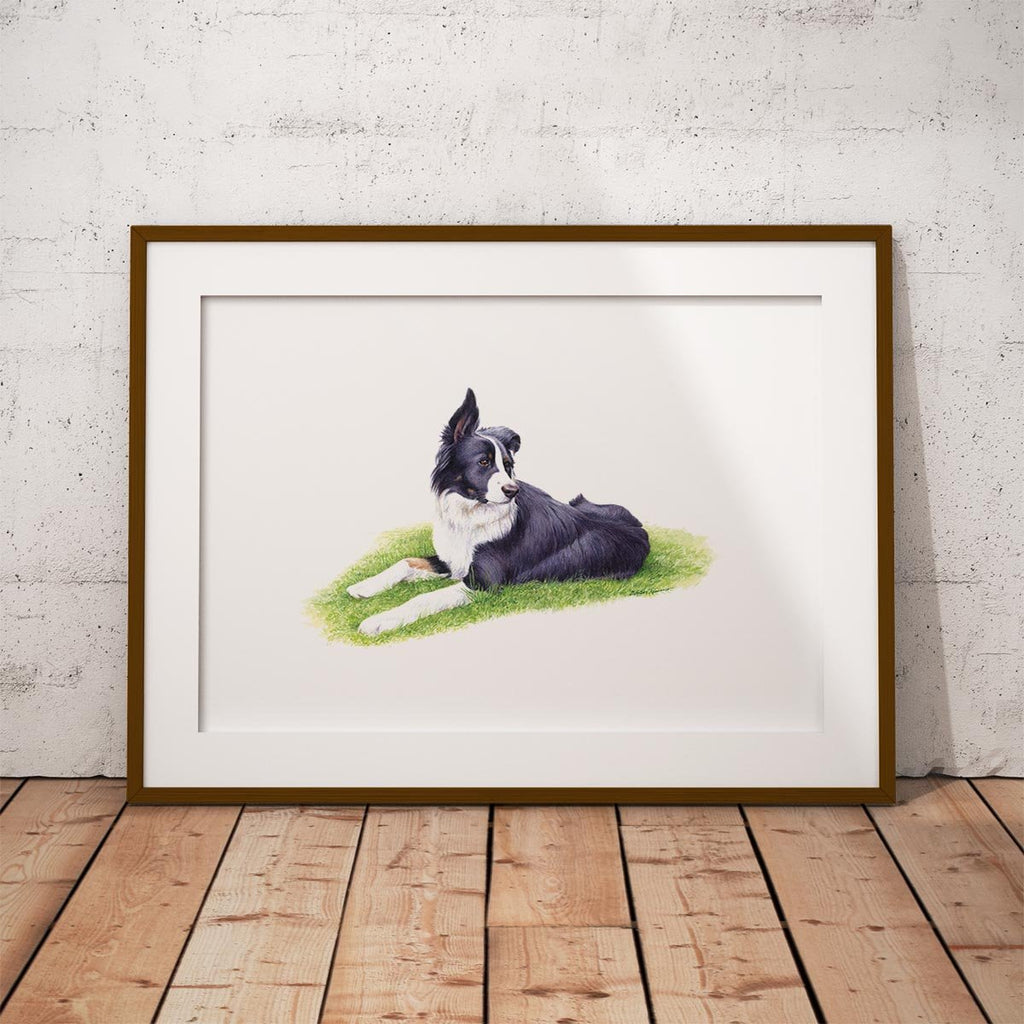 Sheep Dog Wall Art Print - Countryman John