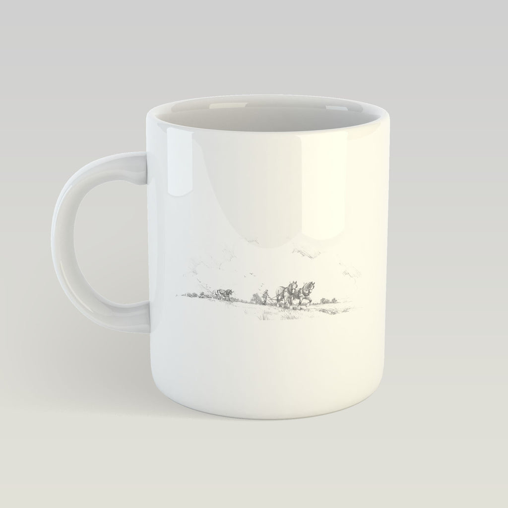 Horse and Plough Mug - Countryman John