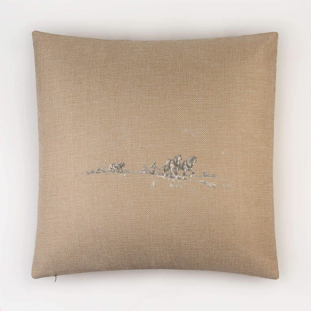 Horse and Plough Cushion - Countryman John