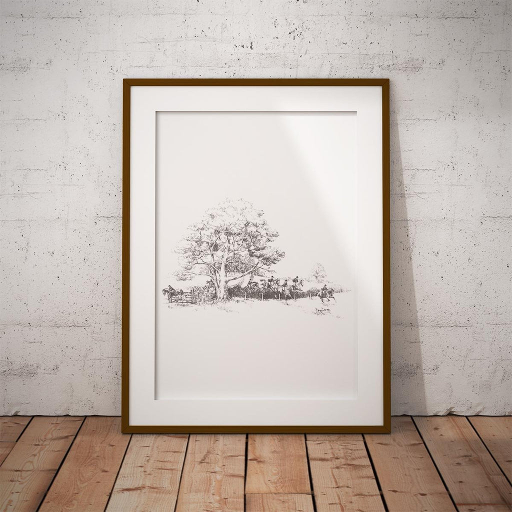 Hunt on the Move Wall Art Print - Countryman John
