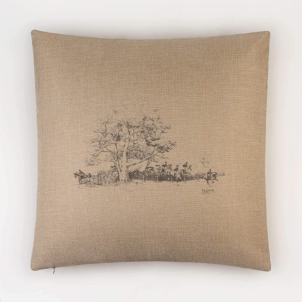 Hunt on the Move Cushion - Countryman John