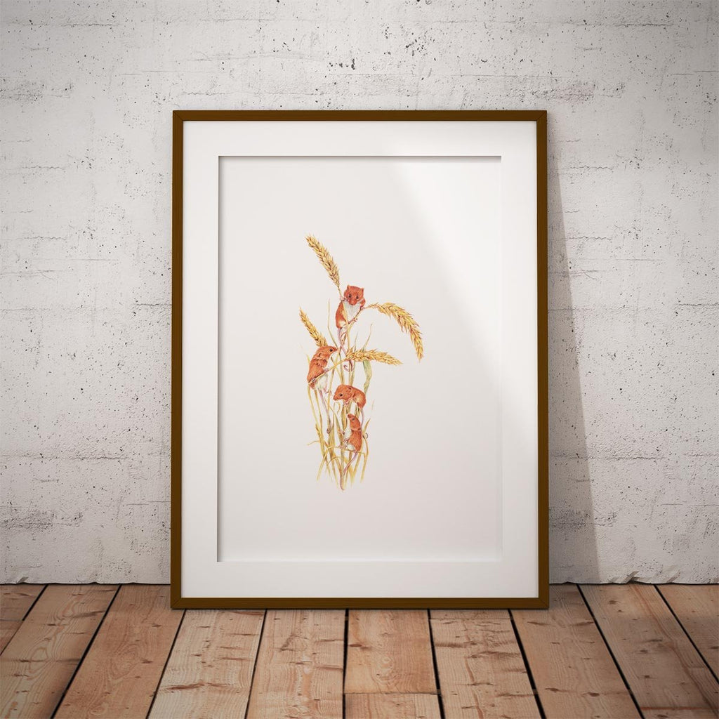 Field Mice Wall Art Print - Countryman John