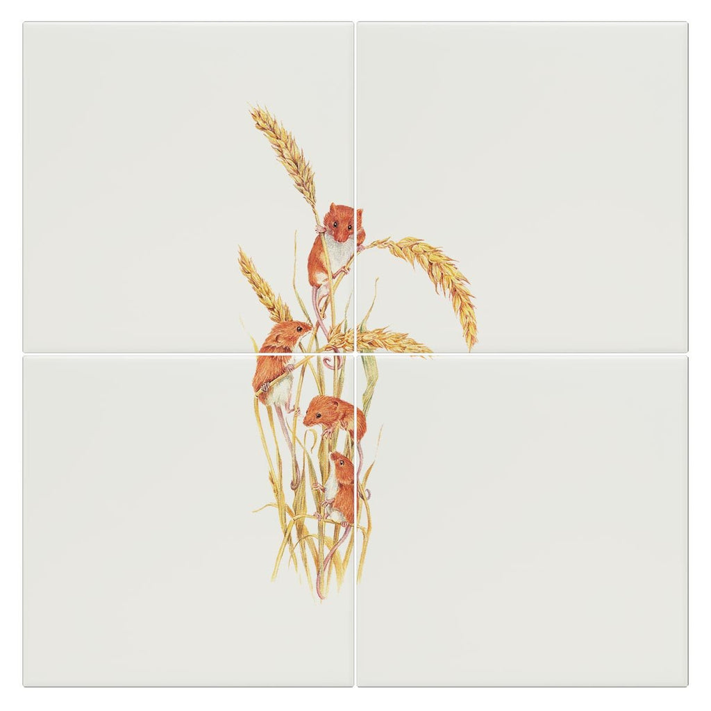 Field Mice Tile - Countryman John