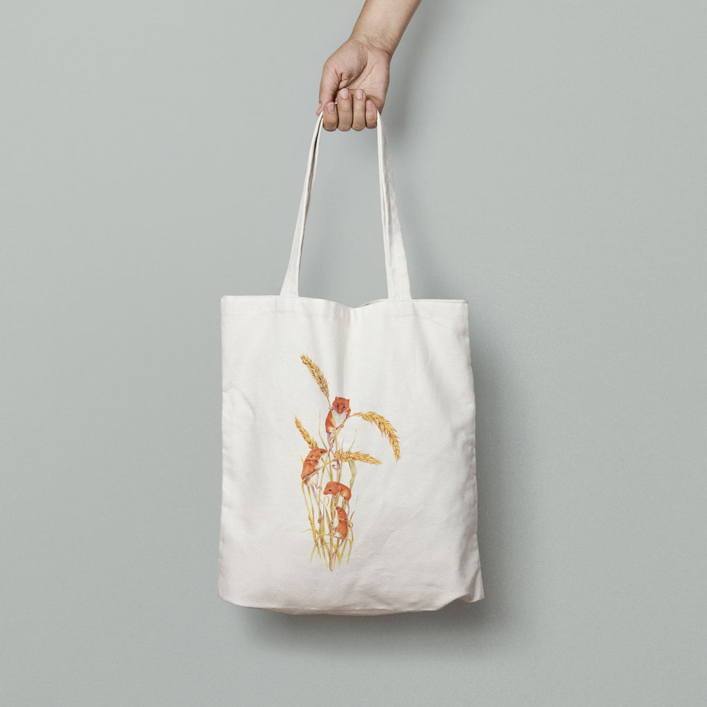 Field Mice Tote Bag