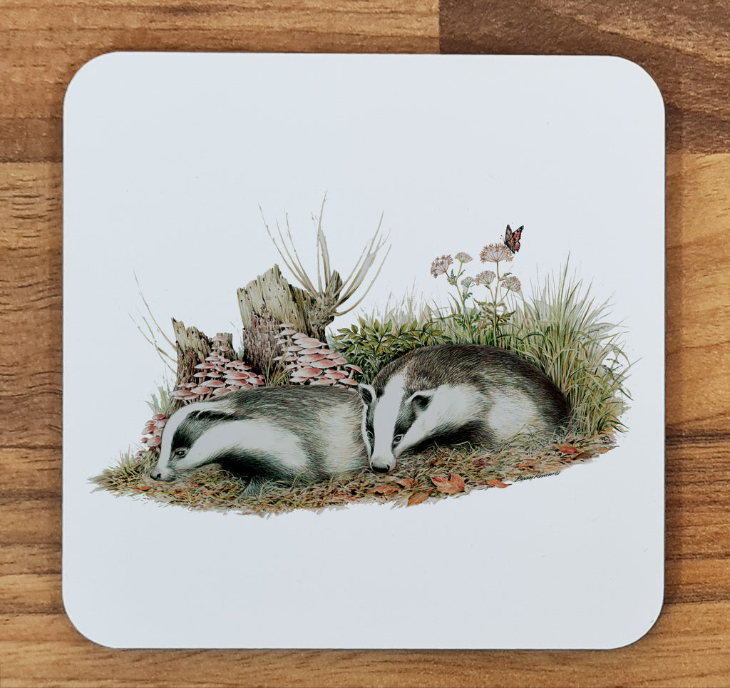 Badger Cubs Melamine Coaster
