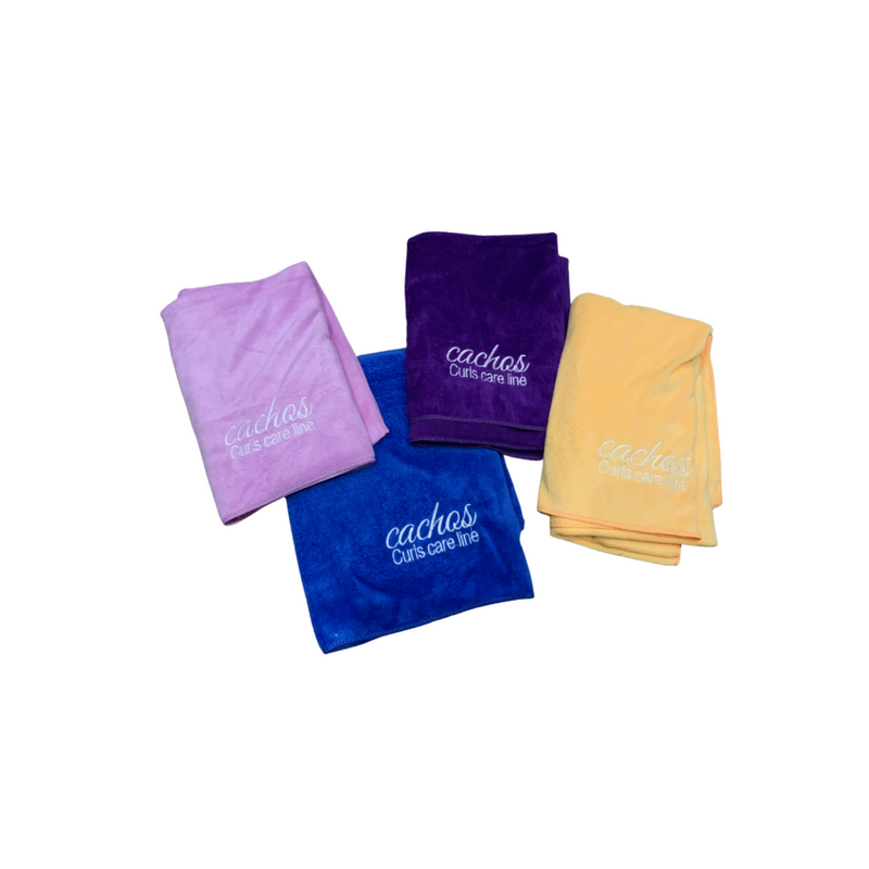 Cachos - microfiber Hair & body towel