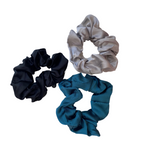 Cachos - basics satin silk scrunchies