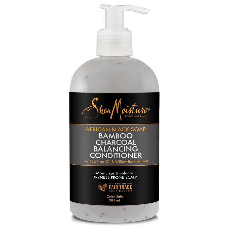 Shea Moisture - African Black Soap Bamboo Charcoal Deep Cleansing Conditioner