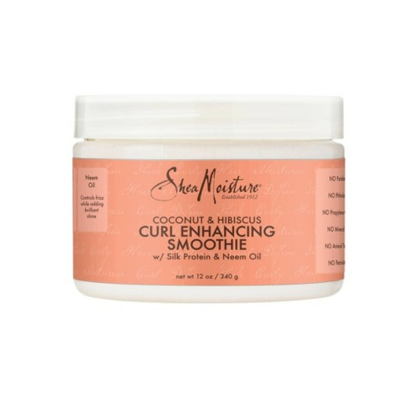 Shea Mositure - Coconut & Hibiscus Curl Enhancing Smoothie ( 12oz )