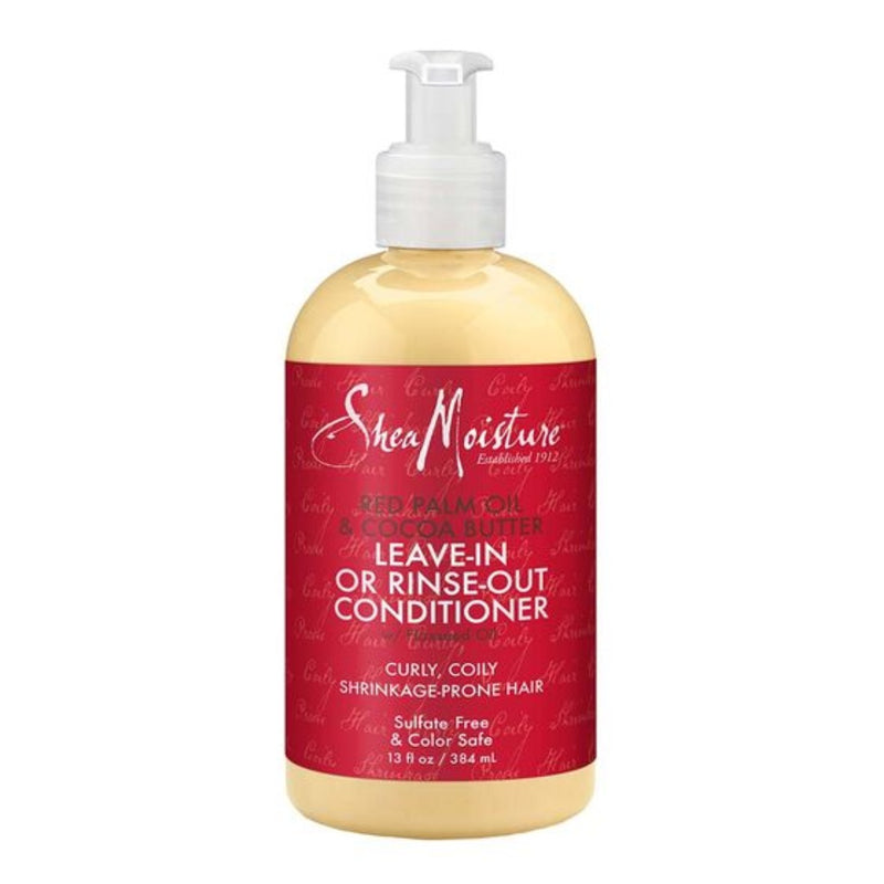 Shea Moisture - Red Palm Oil & Cocoa Butter Leave-in Or Rinse Out Conditioner ( 13 oz )