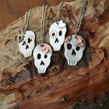 Sugar skull necklaces